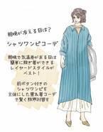 春かと思えば冬戻り…風邪を引かないための寒暖差対策ファッション