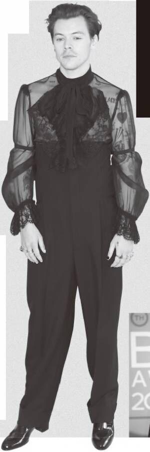 ハリー・スタイルズのドレス姿が話題に 7人のセクシーな俳優たち