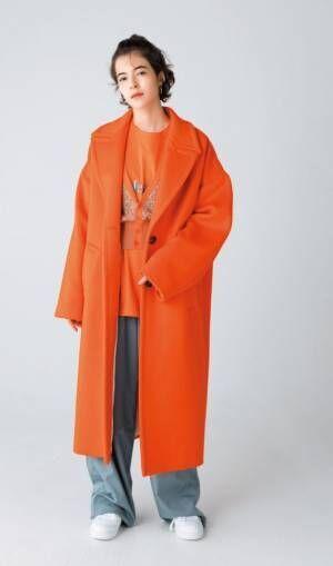 """主役にも差し色にも◎ 秋ファッションは""""オレンジ""""でオシャレ度UP!"""