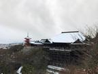 底冷えの厳しい冬でも行きたくなる!?雪景色の京都をお届け。[PR]
