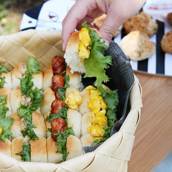 【ピクニックに行こう!第5回】ピクニックを盛り上げるパンレシピ2種[PR]