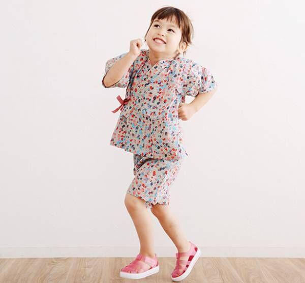 幼児期に着ないともったいない! 北欧テキスタイルの「キッズ甚平」でこの夏は決まり[PR]