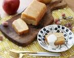 季節の林檎がたっぷり!タルトタタン風「林檎のパウンドケーキ」[PR]