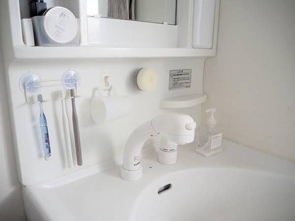 使っているときも、使っていないときも。きれいが続く「マーナの洗面スポンジ」[PR]