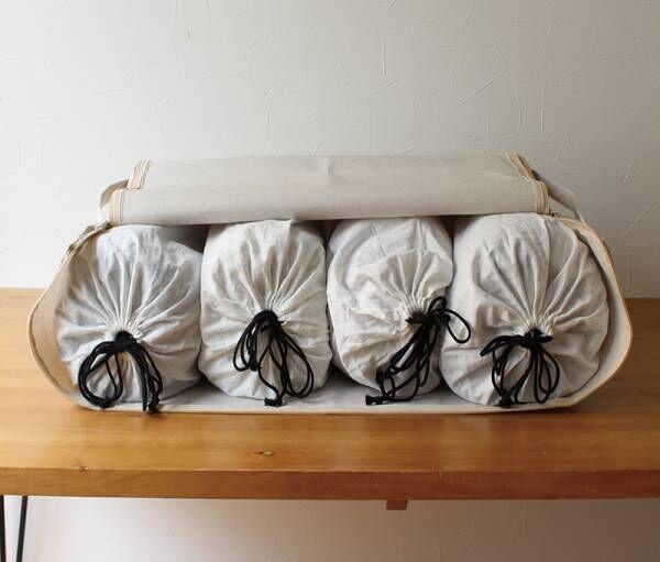 【冬寝具の衣替え】家族分の毛布がスッポリ!収納グッズ見つけました。[PR]