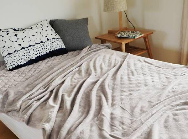 【冬寝具の衣替え】家族分の毛布がスッポリ!収納グッズ見つけました。