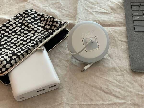 iPhoneの方必見!ORBIT〈オービット〉でスマホ充電の収納を見直そう。