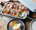 【今月のスイーツ】固いパンもしっとり仕上がる♪リンゴとさつまいものパンプディング[PR]