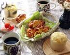 朝食にぴったり! 野菜たっぷりケークサレ&ウインナーロールのレシピ