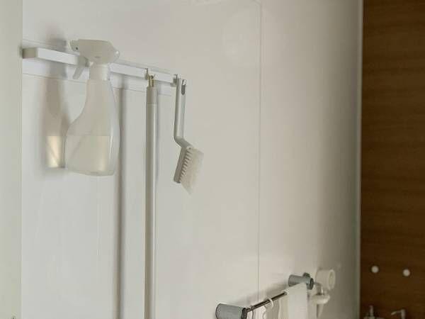 失敗のないバスルーム収納用品。選んだのはtowerのマグネットバスルームタオルハンガーワイド![PR]