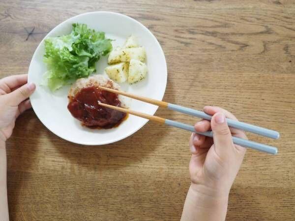 小さな手でも持ちやすい、はじめての箸にぴったりなbon momentのこども箸[PR]
