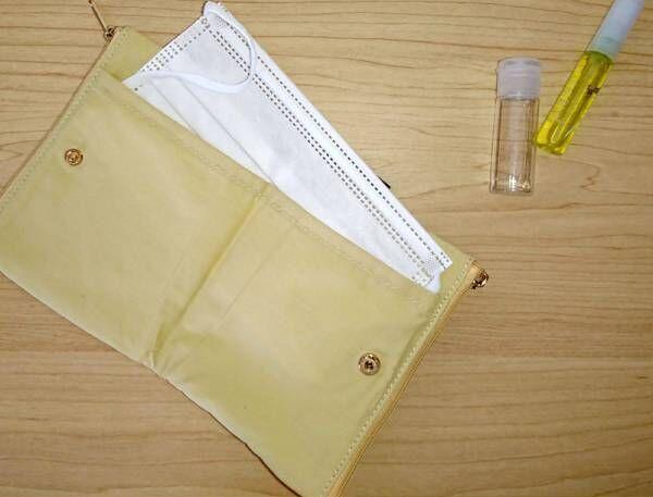 予備マスクと除菌&ケアグッズをひとまとめ!ボンモマンの「マスクポーチケース」みんなの使用レポ