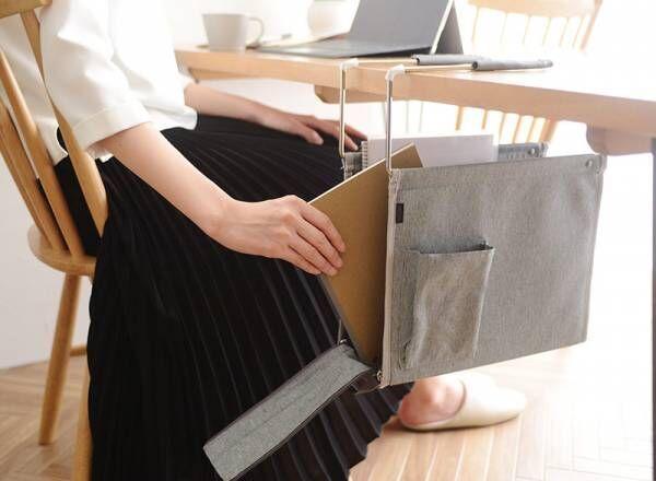 散らかりがちなリビングテーブルの救世主!移動できる「ハンギングボックス」みんなの使い方レポ