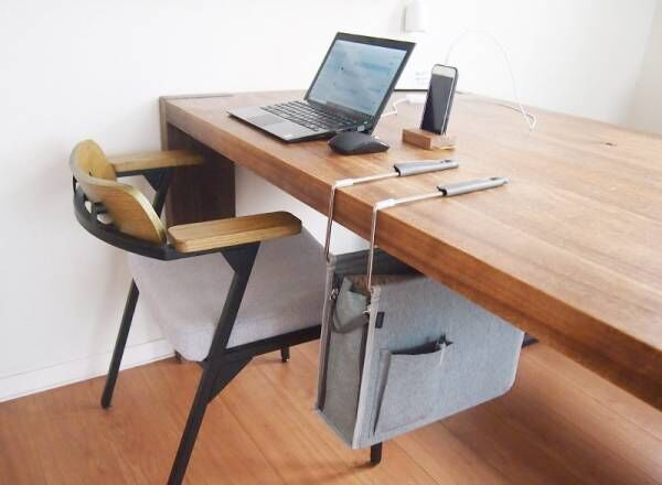散らかりがちなリビングテーブルの救世主!移動できる「ハンギングボックス」みんなの使い方レポ[PR]