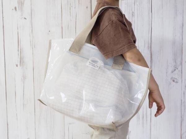 こんなプールバッグが欲しかった!親子で使える北欧調デザインの「ビニールバッグ」[PR]