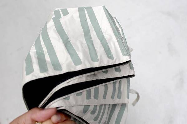 濡れた折りたたみ傘の持ち歩き、正解はコレ!大人も納得できるデザイン「bon moment傘カバー」