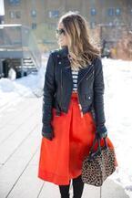 旬のミモレ丈スカートとコートのバランスって?オススメコーデとNG例
