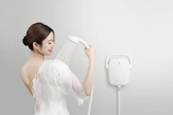 「泡」で体を洗うシャワーが登場!極上のバスタイムを体験♡