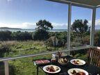 ホリデーハウスで朝食@Dunedin NZ。