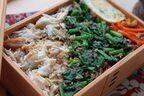 地味だけど簡単で美味しい!「塩鯖ほぐしとほうれん草の丼弁当」