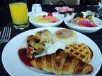 4月最初の朝食は…コンラッドのパンケーキ朝食♪【コンラッド東京】