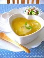 電子レンジでカンタン!朝はこれだけ「食べる」スープ5選♪