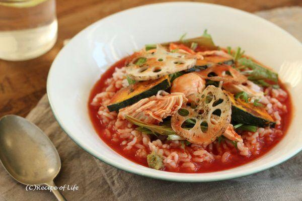 ワンボウルで完成!時短バランス朝食「スープかけごはん」レシピ♪