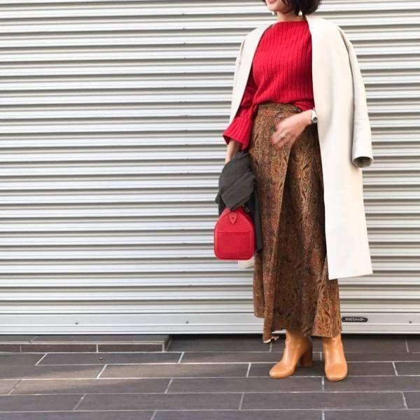 年末に楽しみたい色No.1!「赤」を上品に着こなすコツ3つ