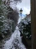 めずらしくイギリスが大雪に見舞われてたいへん!