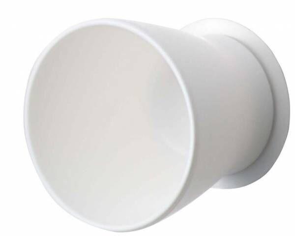 洗面台がすっきり快適に♪「壁にピタッとくっつくはみがきコップ」