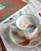 5分で完成!朝ごはんやおやつにぴったり「シナモンミルク汁粉」♪