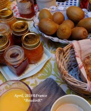 フランスの朝ごはん@Chambre d'hôte