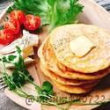 週末ブランチにおすすめ♪お食事系「パンケーキ」レシピ5選