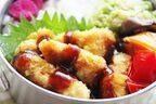 溶き卵いらず!カレーマヨ風味の簡単「ささみカツ」のお弁当