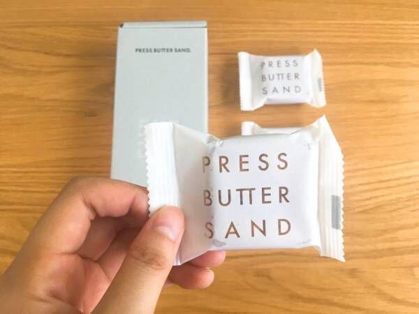 「PRESS BUTTER SAND」