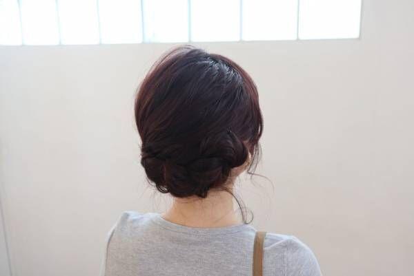 編むだけで簡単♪ゆるふわ「三つ編み」まとめ髪アレンジ