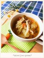 肌寒い朝はポカポカしよう♪「具だくさんスープ」レシピ5つ