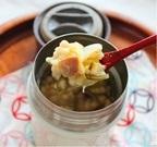 ダイエット向き!「白菜とベーコンの味噌リゾット」スープジャー弁当