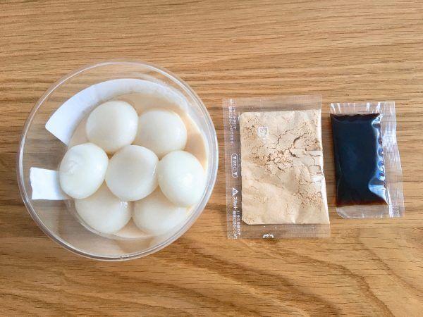 手土産にもぴったり♪成城石井で買える「黒蜜と白玉のきなこプリン」