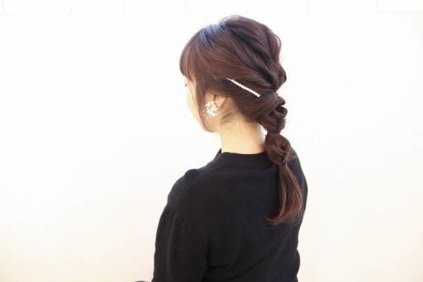 くるりんぱ5回で簡単ふんわり♪テクいらずのおしゃれまとめ髪の作り方
