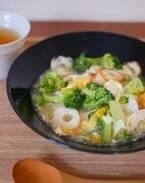 生姜でカラダぽかぽか♪炒めずお手軽「ちくわとブロッコリーのあんかけ丼」