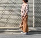 """""""冬服なのに春っぽい""""が叶う!使える「ニュアンスカラー」コーデ術3つ"""