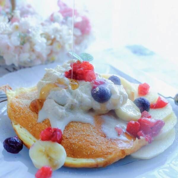 新生活の朝をヘルシーにスタート!卵と牛乳を使わない「ベジパンケーキ」