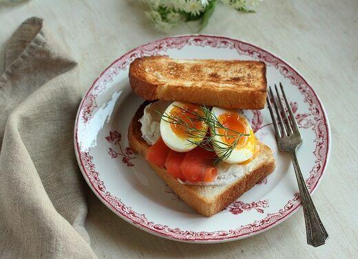ゆで卵サンド