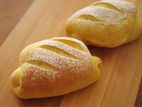 カレーチーズパン☆カレーのパン生地でチーズを巻きましためろんぱんママさん