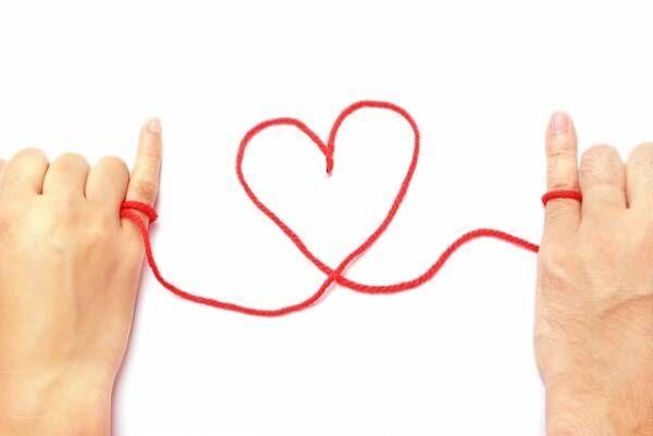 出会い、赤い糸