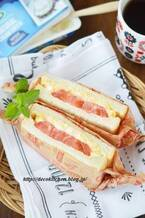 寝る前に挟めば朝ラクチン♪夏の「サンドイッチ」朝食レシピ5選