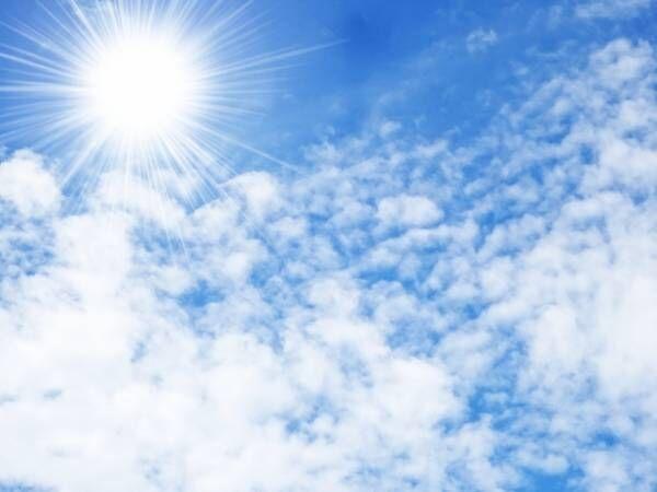 紫外線たっぷりの夏空
