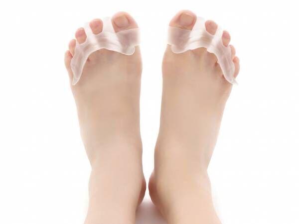 足の疲れを気持ちよくケア♪指の間を優しく広げる「足指サポーター」
