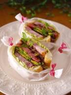 秋の行楽に♪具材たっぷり「サンドイッチ」朝ごはんレシピ